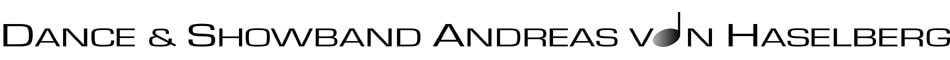 Logo - Dance & Showband Andreas von Haselberg